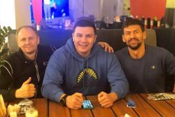 Кадр дня: Иса Акбербаев прибыл в Екатеринбург