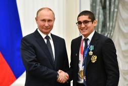 Владимир Путин встретился с призерами Олимпийских игр в Токио