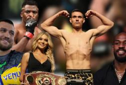 Нганну, Джонс и разборки с UFC | Возвращение Де Ла Хойи | Дата боя Ломаченко (видео)