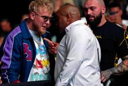 Конфликт: Кормье и Джейк Пол встретились на UFC 261 | Реакция Даны Уайта (видео)