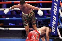 Супер бой Тейлор-Рамирес: Зрелищный нокдаун, результат   Слова после боя