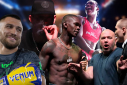 UFC 263: Перепалка Адесанья и Веттори, слова Нейта Диаза | Дебют Клариссы Шилдс в ММА (видео)