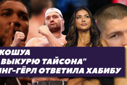 Ринг-герл UFC ответила Хабибу | Фьюри разоблачает Джошуа (видео)