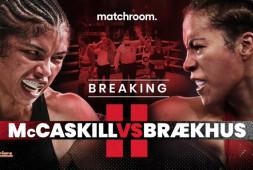Сесилия Брекхус воспользуется правом на реванш с Джессикой Маккаскилл