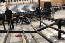 Кадр дня: сломанный ринг после победы Джеймела Херринга