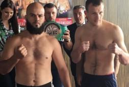 Сергей Екимов одержал досрочную победу над Мустафой Чадлиоуи