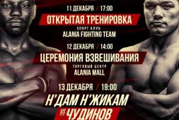 Федор Чудинов: Н'Жикам — один из сильнейших соперников в моей карьере