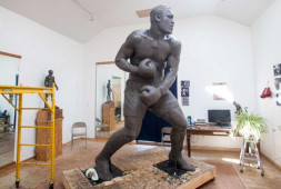 Кадр дня: Статуя Джо Фрейзера