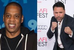 Де Ла Хойя и Jay Z заключили пари на $100 тысяч на исход боя Котто-Канело