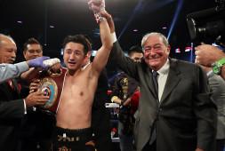 Цзоу Шимин завоевал титул WBO в наилегчайшем весе