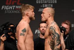 Видео: Взвешивание участников UFC Fight Night 153