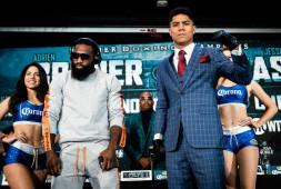 Фото: Пресс-конференция перед вечером бокса Бронер-Варгас