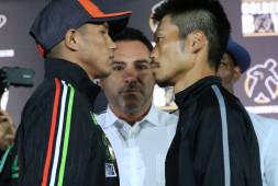 Кадр дня: Мигель Берчельт и Такаши Миура на пресс-конфренции