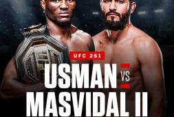 Официально: Камару Усман - Хорхе Масвидаль II на UFC 261
