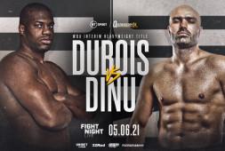 Дэниэл Дюбуа проведет бой против Богдана Дину 5 июня