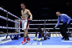 Хасанбой Дусматов завоевал пояс WBA International