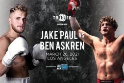Бен Аскрен принял вызов от Youtube-звезды Джейка Пола, Соннен и Хельвани сообщили подробности
