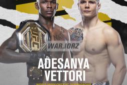 Официально: Исраэль Адесанья — Марвин Веттори II на UFC 263