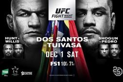 Прямая трансляция UFC Fight Night 142