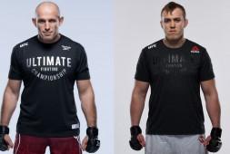 Алексей Олейник и Сергей Спивак проведут бой на UFC on ESPN 25