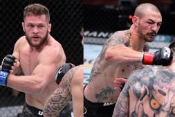 Нокауты Физиева и Свонсона, болевой Оливейры и другие яркие моменты UFC 256