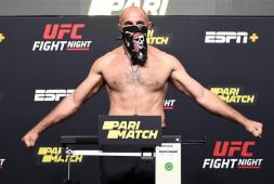 UFC Vegas 19: Бой Олейник-Даукаус завершится досрочно