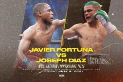 Хавьер Фортуна и Джозеф Диас проведут бой за временный титул WBC