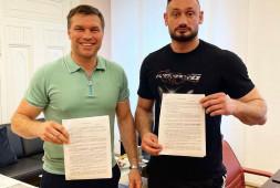 Боец на голых кулаках Гаджи «Автомат» Наврузов подписал контракт с промоутерской компанией Григория Дрозда