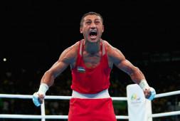 Олимпийский чемпион Гаибназаров одержал седьмую победу