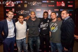 Почетные гости турнира «Легенда» в Милане