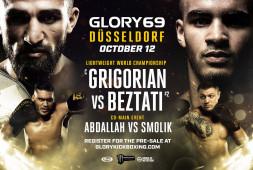 Glory 69: Григорян-Безтати и Меньшиков-Конголо (Прямой эфир 12 октября в 20:00)