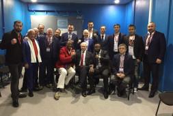 Кадр дня: олимпийские чемпионы в Сочи
