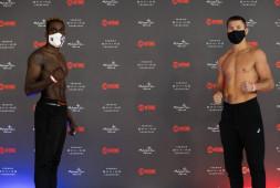 Соперник Коробова оказался тяжелее на 3 кг