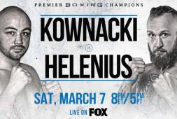 Ковнацкий и Хелениус в отборочном поединке по версии WBA