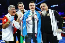 Кудратилло Абдукахоров подписал контракт с Sampson Boxing