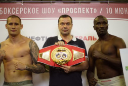 Видеозапись боксерского шоу «Проспект» в «Академии бокса»