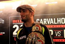 Гегард Мусаси нокаутировал Карвальо и стал чемпионом Bellator