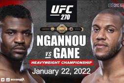 Франсис Нганну и Сирил Ган проведут бой на UFC 270