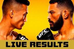 Результаты турнира UFC on ESPN 25