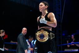 Софья Очигава рассчитывает провести бой за титул после поединка с Шариповой
