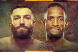 Результаты взвешивания участников турнира UFC on ESPN 20
