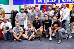 Кадр и видео дня: Команда Пакьяо и его физическая форма перед боем против Спенса