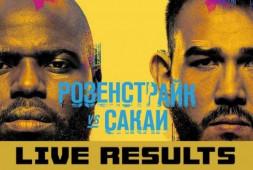 Результаты турнира UFC Fight Night 189