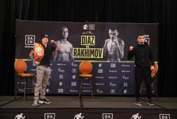 Шавкат Рахимов и Джозеф Диас встретились на пресс-конференции