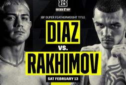 Бой Шавката Рахимова и Джозефа Диаса все же состоится 13 февраля