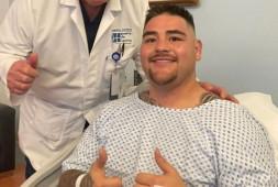 Энди Руис перенес операцию на колене, надеется провести бой в декабре