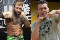 Александр Емельяненко и Артем Тарасов подписали контракт на бой