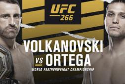 Список участников турнира UFC 266