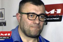 Михаил Пореченков о турнире M-1 Challenge 56