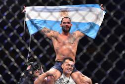 Сантьяго Понциниббио прокомментировал победу над Мигелем Баезой